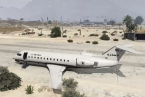 GTA V Buckingham 16-seat Mil-Jet gameplay