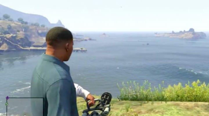 GTA V Online Minigun location on PS4, Xbox One