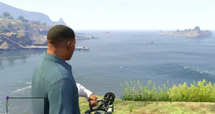 GTA V Online Minigun location on PS4, Xbox One