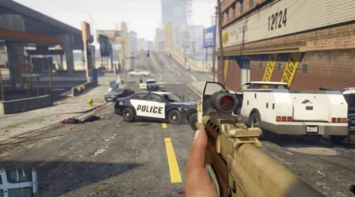 Download GTA V PC Trainer mod for unlimited ammo