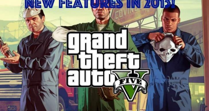 GTA V 1.21, 1.07 update with new features in 2015
