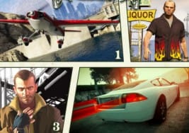 GTA V Nico Bellic and Blimp playable