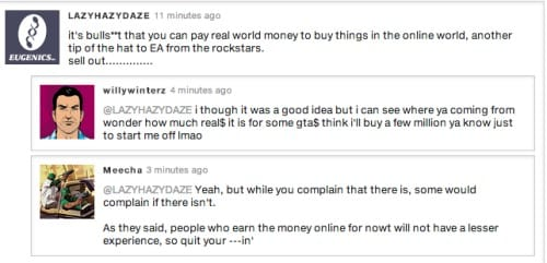 Not everyone is happy about the GTA Online cash payments