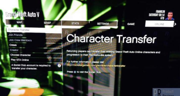 GTA V Online Character transfer problems on PS4, Xbox One