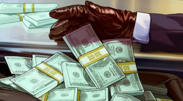 GTA V Online free money handout with 1.04 update