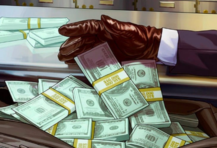 GTA V Online free money handout with 1.04 update