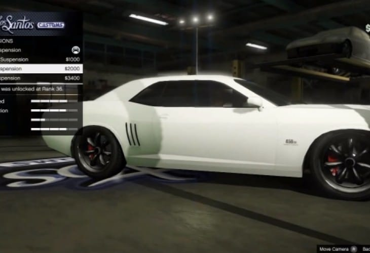 GTA V Online car glitch before 1.05 update for $25m