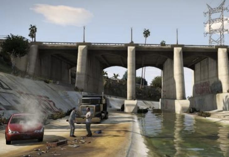 GTA V PC, PS4 and Xbox One graphics potential