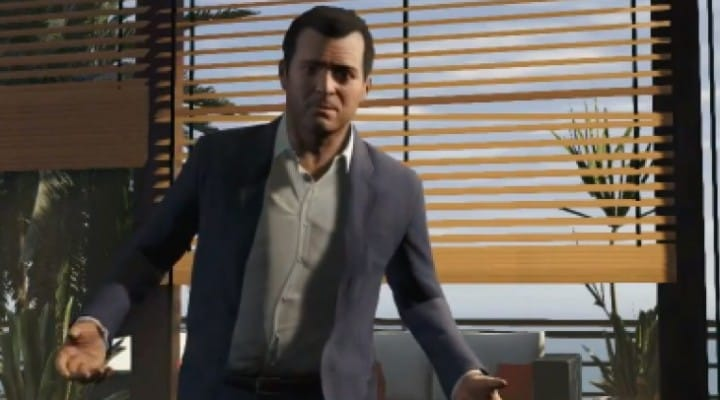 GTA V protagonist trailers entice release date