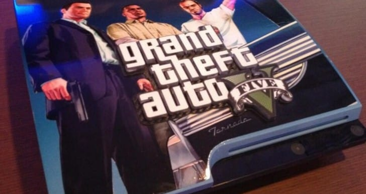 GTA V PS3 console is one of a kind