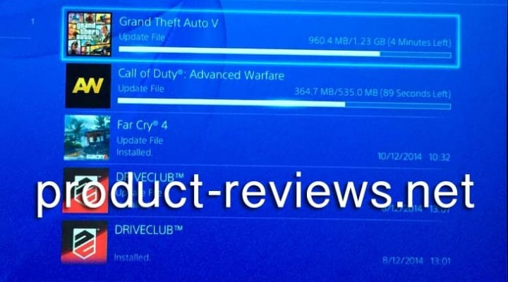 GTA V 1.05 PS4 update live at 1.23GB with notes