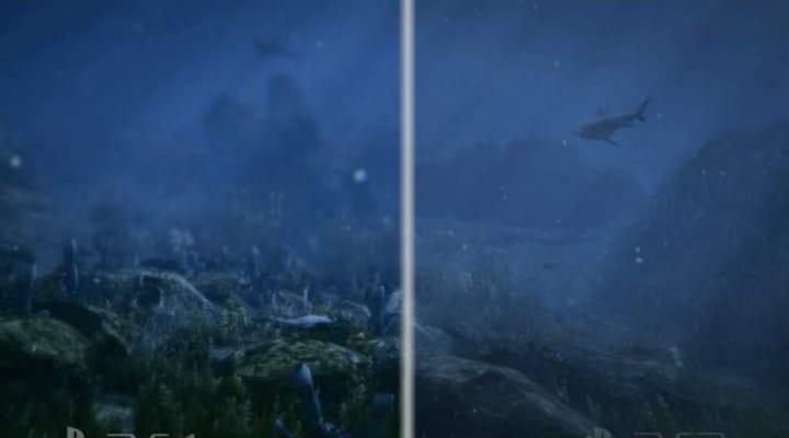 GTA V PS4 Vs PS3 in Forest, Desert and Ocean