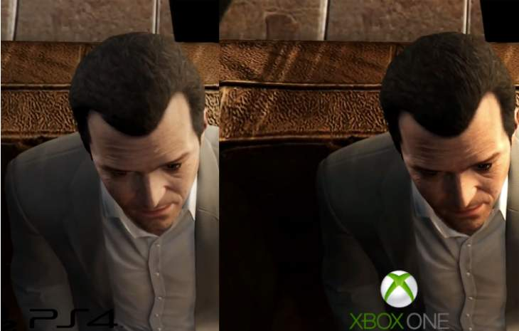 On first impressions Xbox One Vs Ps4 Graphics Gta V