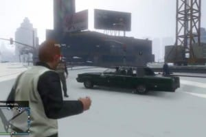 GTA V Snowball fights, snow streets live early