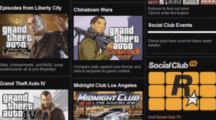 GTA V Social Club TV leak leads to ban