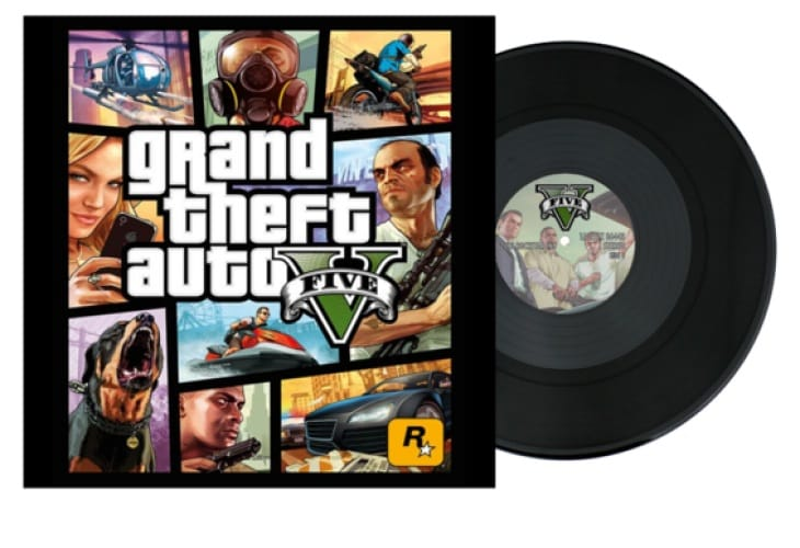 GTA V soundtrack with download samplers