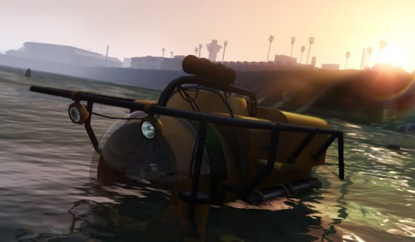 GTA V underwater exploration teased