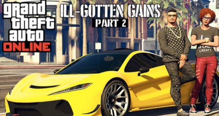 GTA V 1.12 update notes on PS4 live