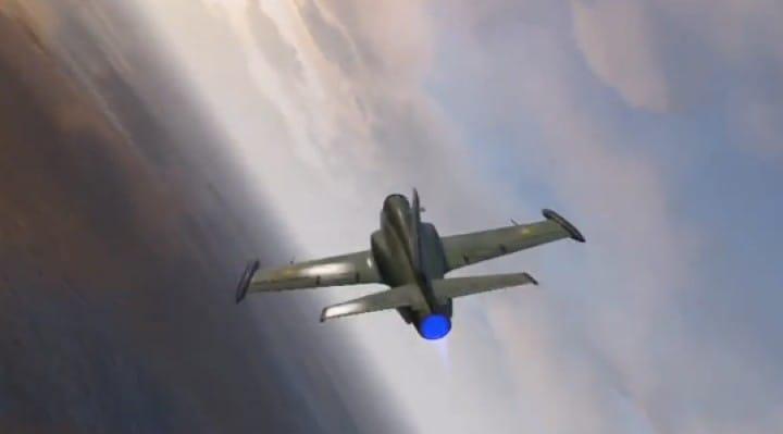 GTA V Online Western Besra jet gameplay