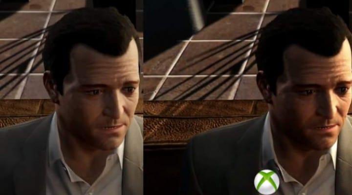 GTA V PS4 Vs Xbox One graphics winner