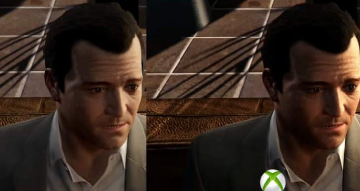 GTA V PS4 Vs Xbox One graphics winner