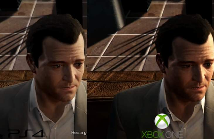GTA V PS4 Vs Xbox One graphics Xbox One Vs Ps4 Graphics Gta V