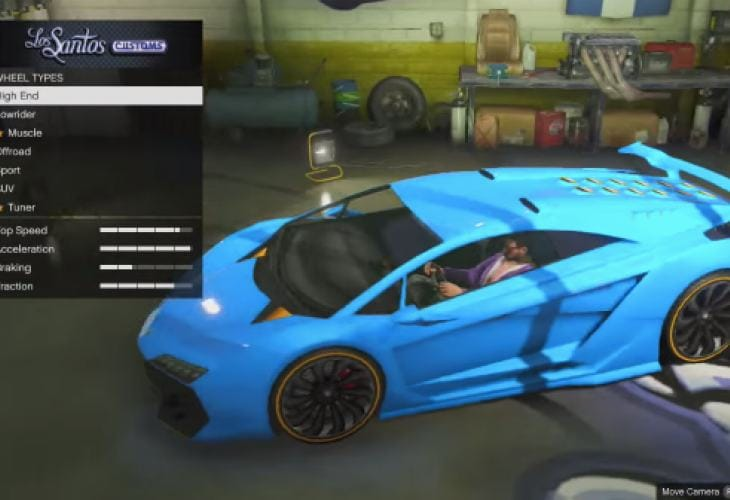 Gta V Zentorno Customized Vs Lamborghini Sesto Elemento Product