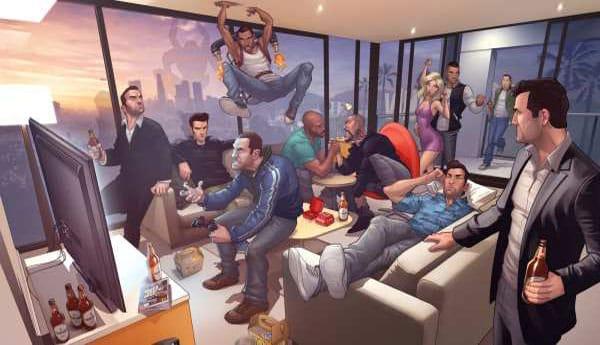 GTA V and Saints Row 4 follow a pattern