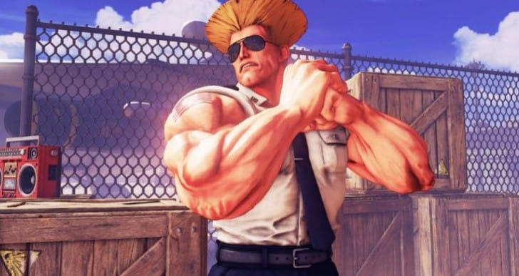 Guile Street Fighter 5 release time for Pacific, Eastern