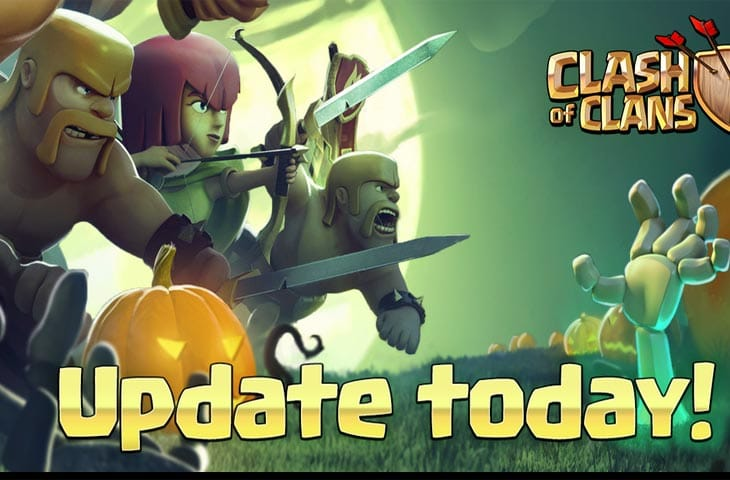Clash of Clans Halloween Update