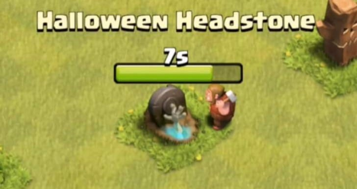 Clash of Clans Halloween update release time