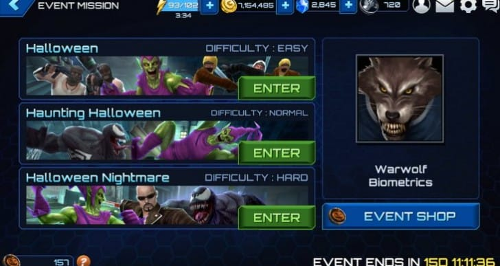 Getting Future Fight Lash, Elsa and Warwolf biometrics