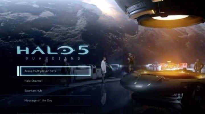 Halo 5 live stream with beta code desperation