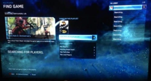 Halo Master Chief Collection matchmaking problems on Xbox