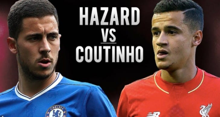 Philippe Coutinho Vs Eden Hazard war for PL POTM SBC