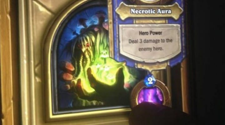 Hearthstone Curse of Naxxramas boss cards exposed