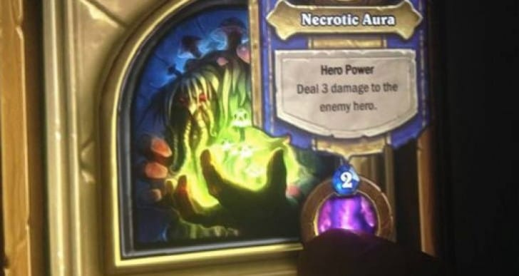 Hearthstone Curse of Naxxramas boss cards exposed