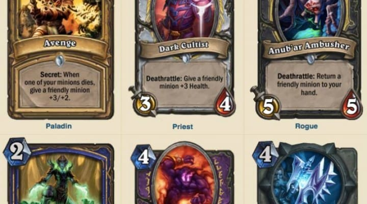 Hearthstone Curse of Naxxramas release date missing at E3