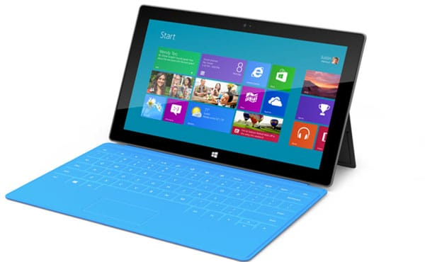 Microsoft Surface: High tablet price lacks 3G/4G