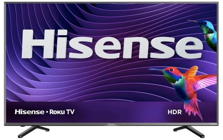 Hisense 55R6D 55″ 4K Roku TV reviews missing