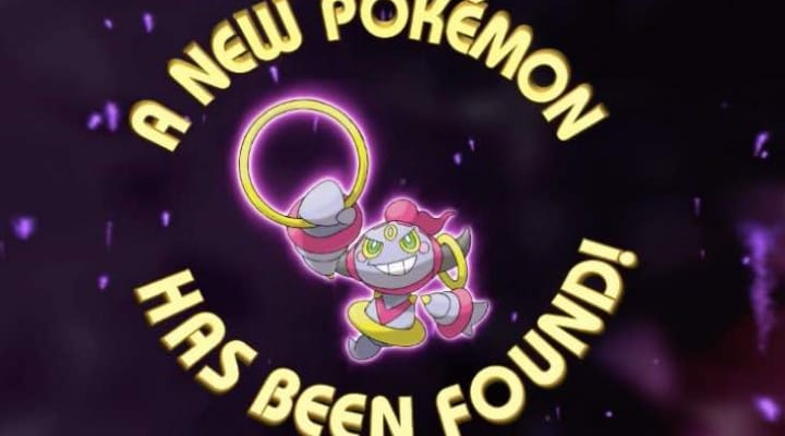 Pokemon ORAS Hoopa event release date hype for trades