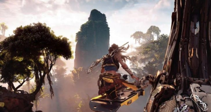 Stunning Horizon Zero Dawn PS4 Pro gameplay in 4K, HDR