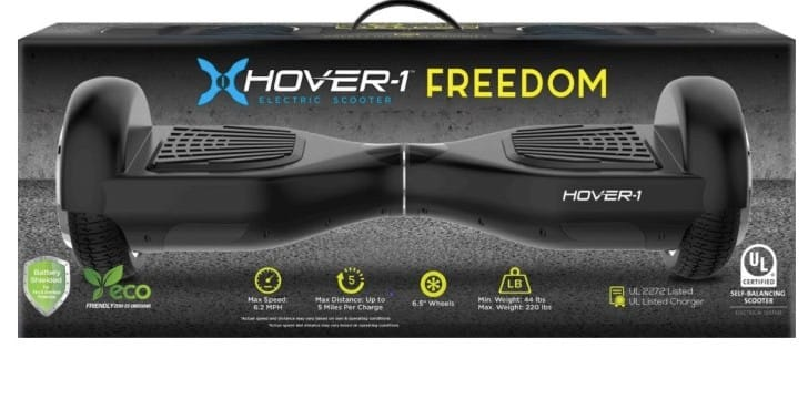 Hover-1 Freedom Hoverboard review with no app support