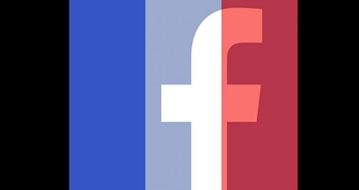 Remove French flag overlay from Facebook profile, after Paris support