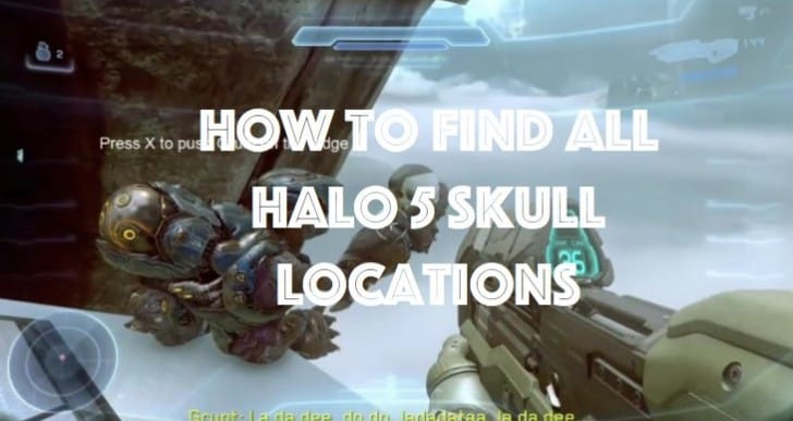All 13 Halo 5 Skull locations made easy