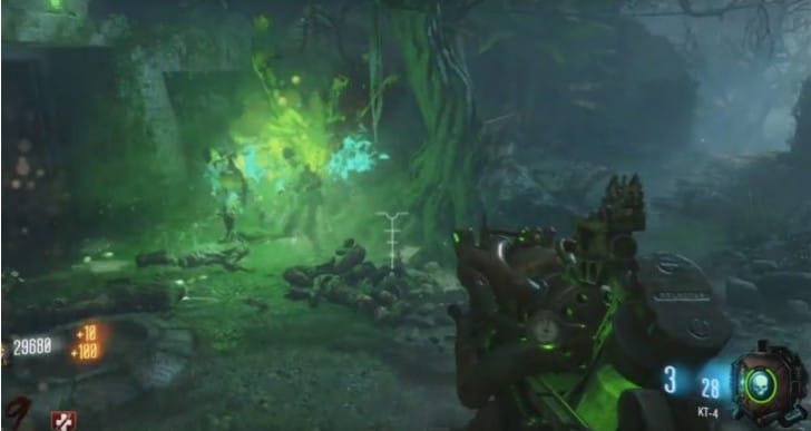 Get KT-4 Wonder Weapon in Zetsubou No Shima zombies