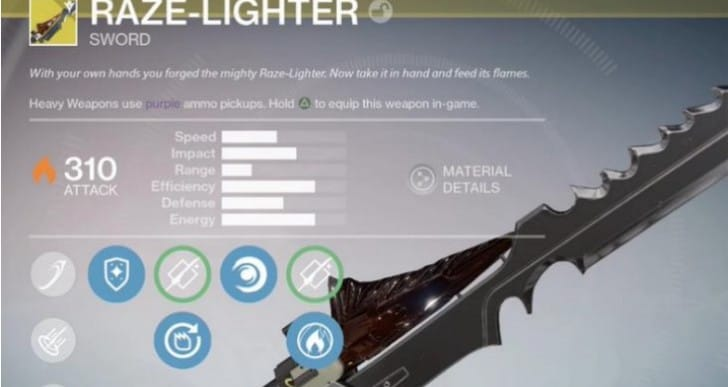 Get Destiny Exotic Swords with Reforged Quest