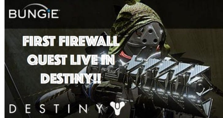 Destiny First Firewall quest for Sleeper Simulant