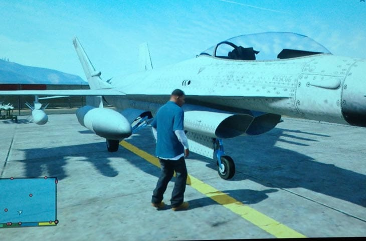 Steal a Jet in GTA V with gameplay