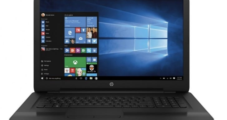 HP 17-X121DX laptop gaming review for Overwatch